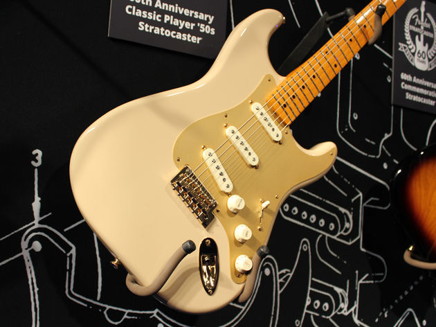 Fender Sixtieth Anniversary Classic Player '50s Stratocaster