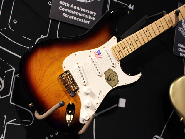 Fender Sixtieth Anniversary Stratocaster - close up