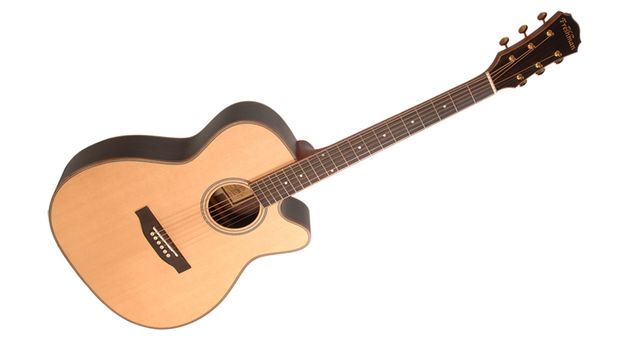 The new Songwriter Series packs solid woods and AER pickups
