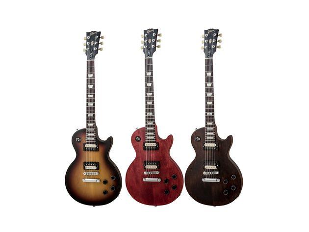 Les finitions de la Gibson LPJ