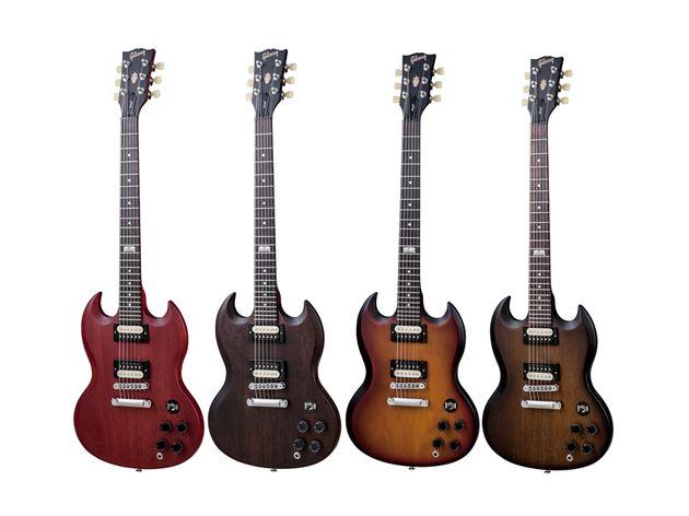 Les coloris de la Gibson SGM