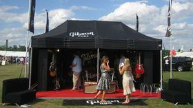 Gibson visits Silverstone Classic