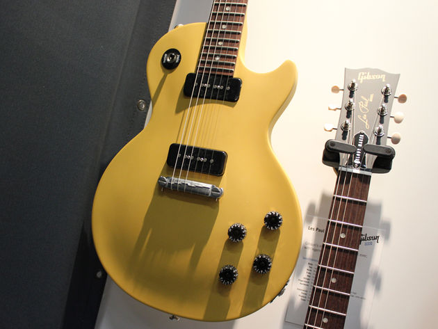 Les Paul Melody Maker yellow satin