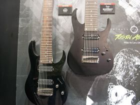 Musikmesse 2014 : le stand Ibanez