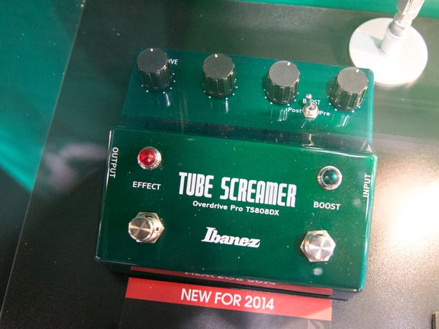 Tube Screamer avec Booster