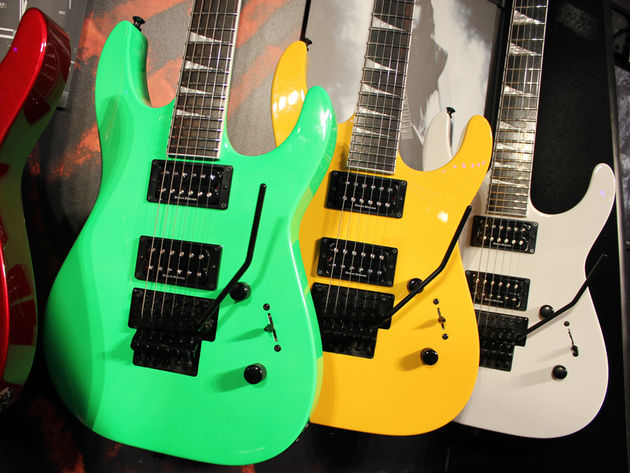 Jackson SLX Soloist selection