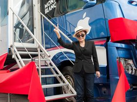 MusicRadar visits the John Lennon Educational Tour Bus
