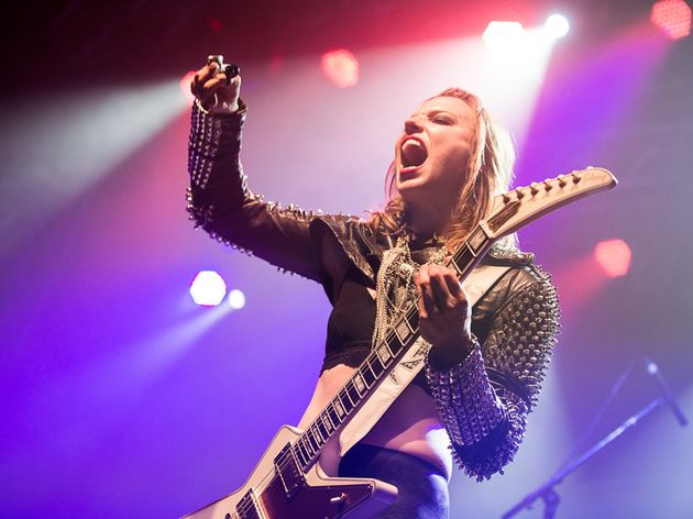 Lzzy Hale on Halestorm, Hetfield and channelling Lemmy