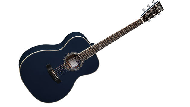 Here's the OM-ECHF Navy Blues, designed in conjunction with Slowhand himself