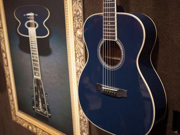 Martin OM-ECHF Navy Blues