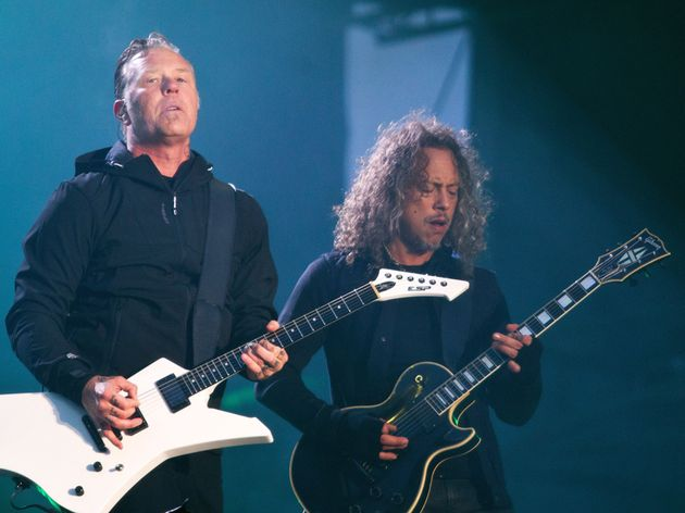 Kirk Hammett & James Hetfield