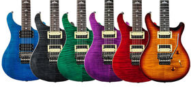 NAMM 2014: PRS unveils new finishes for SE Floyd Custom