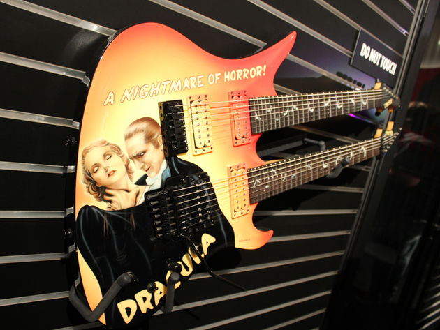 NAMM 2014: Schecter stand in pictures