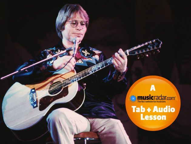 Play acoustic like John Denver