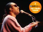 Comment jouer de la guitare dans le style de Stevie Wonder