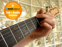 Open position guitar chords for beginners