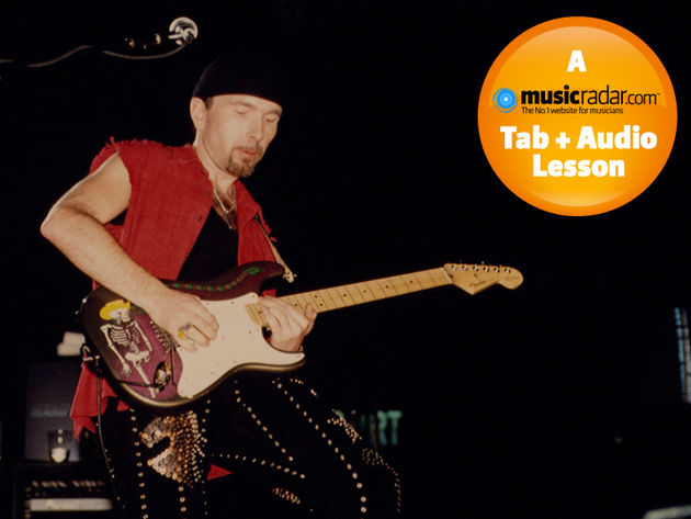 The Edge live in 1992