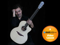 How to play DADGAD like Pierre Bensusan