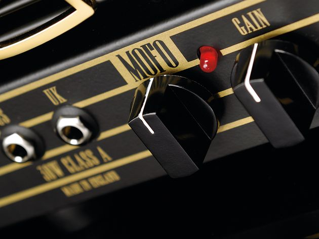 The Hayden's 'Mofo' control is another preamp gain control
