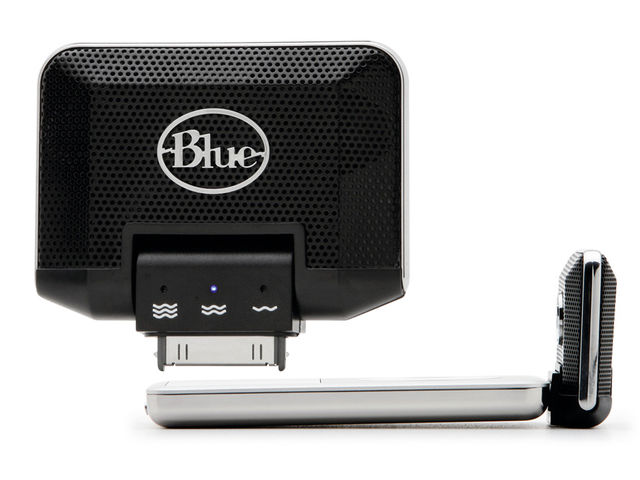 Blue Microphones Mikey iPod microphone (£59)