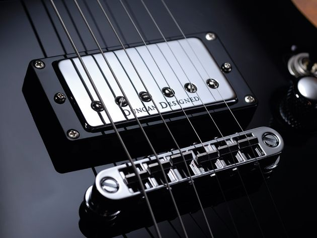 The Standard's Duncan Designed pickups are a concession to its lower price point.