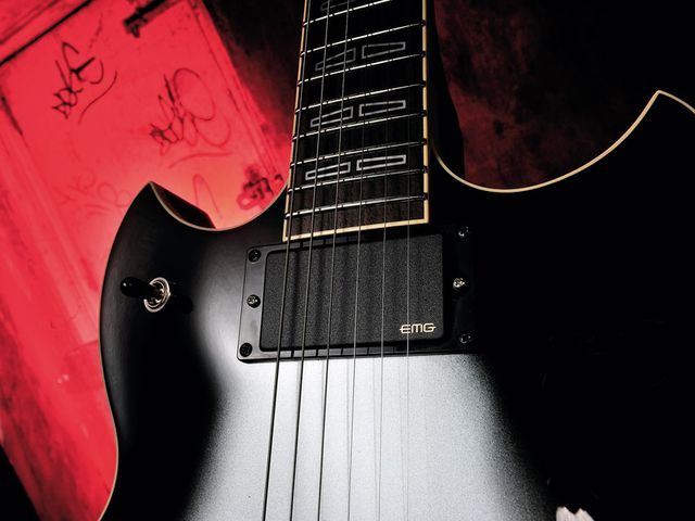 The SG1820A is none more metal - both in style and tone