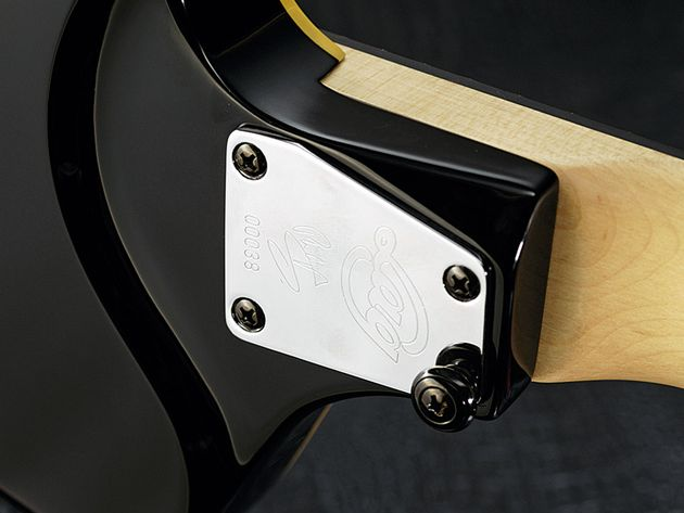 Pretty it ain't, but the sculpted heel makes top-fret access more comfortable.