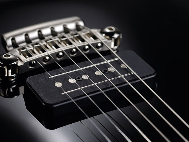 The bridge and pickups have both been redesigned for these guitars.