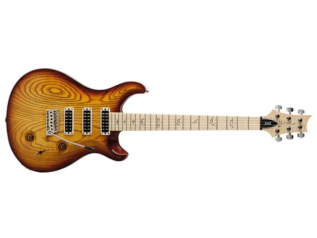 A winning combination of Fender-style materials, Gibson influence and distinctive PRS style.