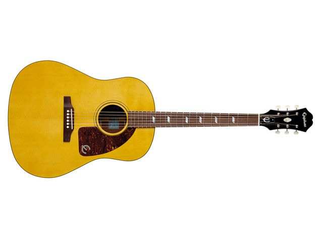 A classic shaped guitar that feels like an old friend.
