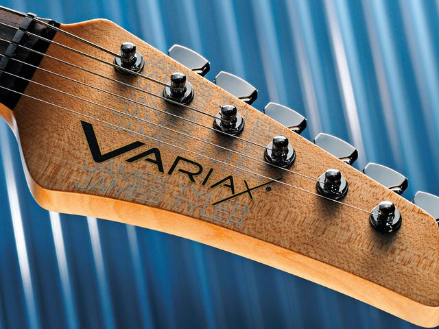 The new Variax is almost bereft of Line 6 livery.