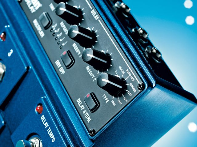The JamMan Delay features all the delay modes you're likely to need.