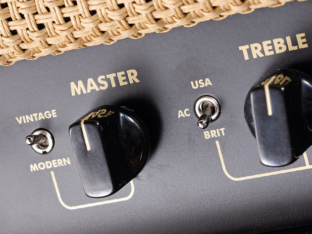The toggle switches greatly enhance the Tweaker's sonic versatility.