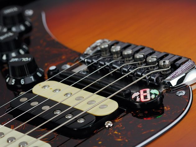 The bridge is designed to retrofit to a USA Standard Strat - smart thinking from the ATD team.