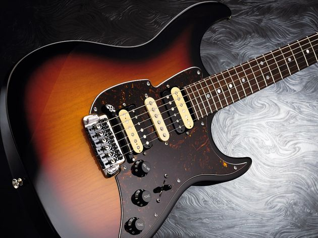 The self-tuning Super-Matic is one of the most talked-about guitars on the planet right now