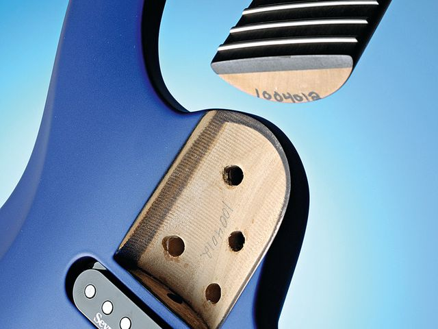 The shaped Radial Neck Joint was a feature of the original 1996 Nightfly.