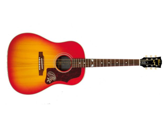 We love the guitar, but we're unsure about that cherry 'burst finish.