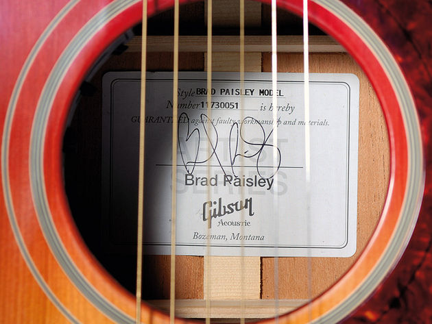 Just 300 examples of the Brad Paisley J-45 will be produced.