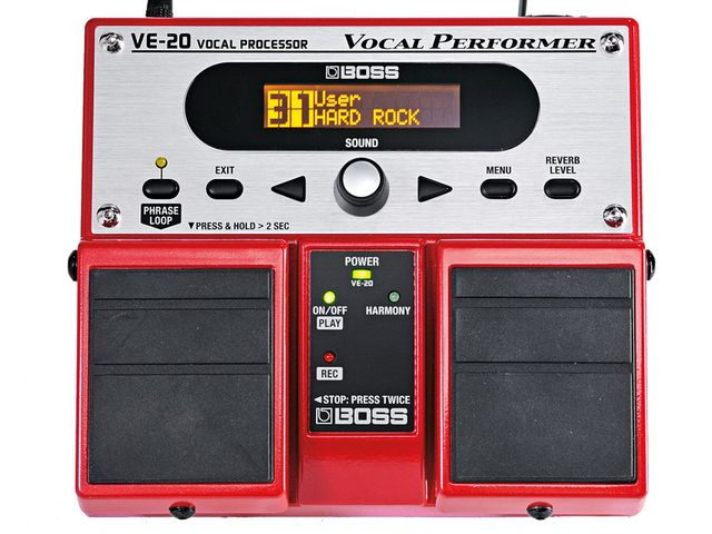 The VE-20's presets offer a varied cross-section of the unit's capabilities.