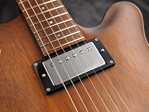 The neck pickup can create some vocal depth for deep blues tones.