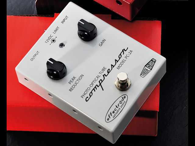 The PC-2A is inspired by the classic LA-2A studio compressor.