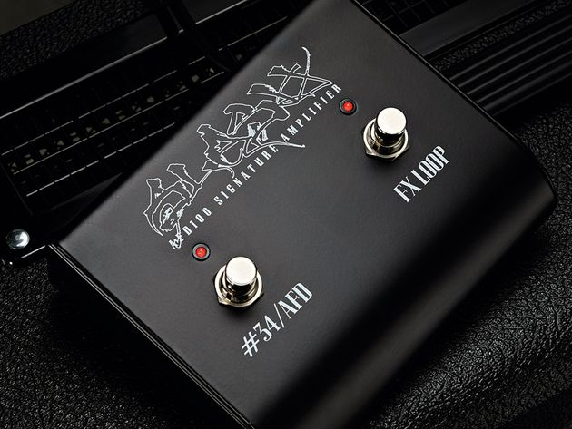 The AFD100 is a single channel design, but the #34/AFD switch provides some tonal variety.