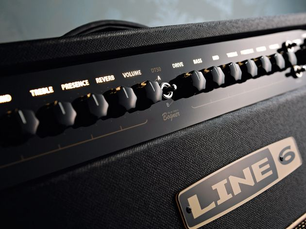 The DT50's control panel feels much more 'classic' amp-like than many Line 6 amplifiers.