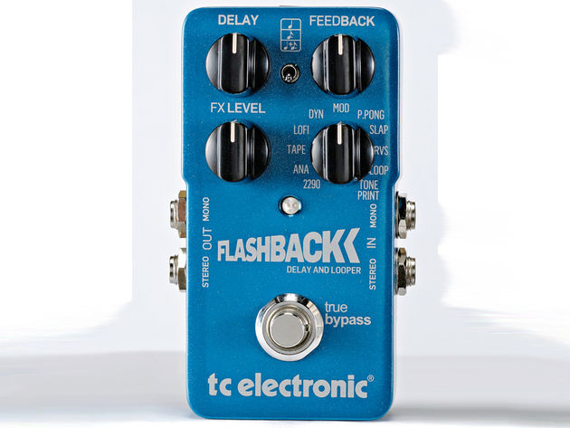 There's little we could ask for in a delay pedal that the Flashback doesn't offer.
