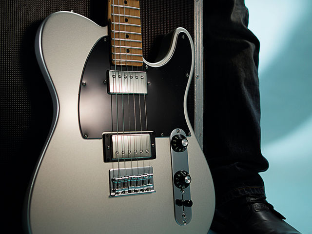 This guitar will handle everything from country to full-throttle rock.