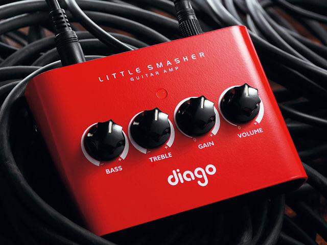 Mini amp, mighty performance.