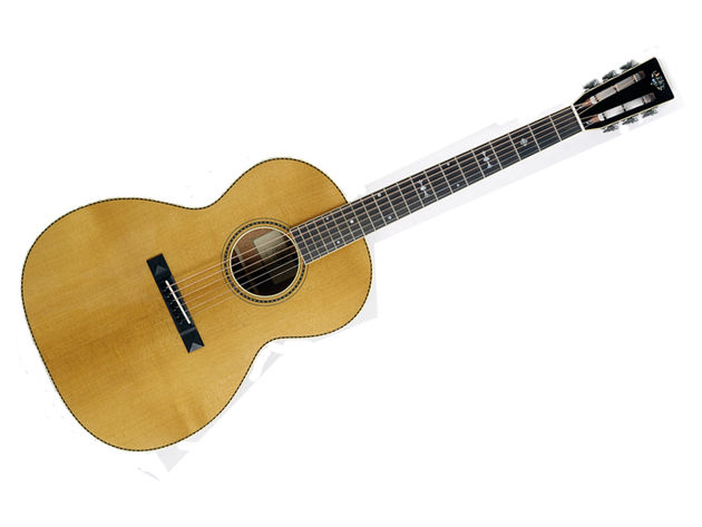 The European spruce top is of a very high quality.