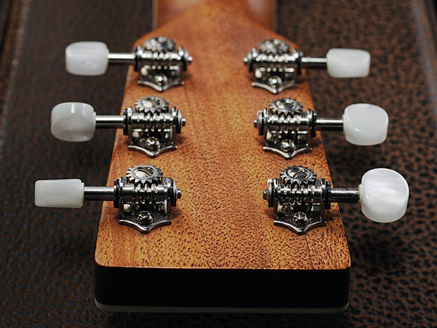 The open-geared Gotoh tuners are excellent as ever.
