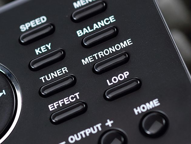 A range of playback and loop options make this an ideal practice tool.