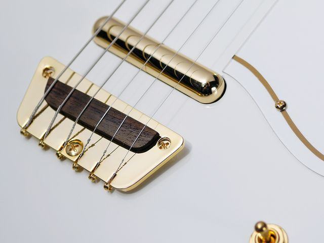 Gold hardware on a Danelectro seems incongruous - rudimentary luxury?